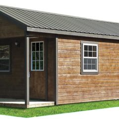 Lap Siding, Porch, Metal Roof