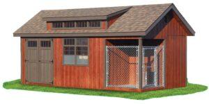 Shed w/ Dog House