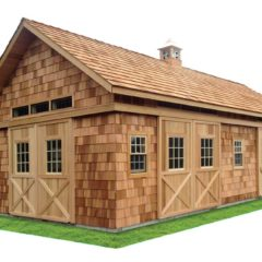 Cedar Shake Siding & Roof