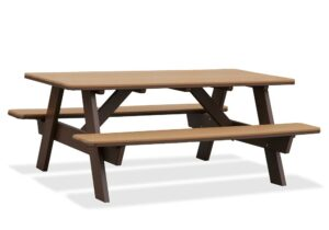 3'x6' or 3'x8' Picnic Table