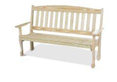 4' or 5' English Garden Bench