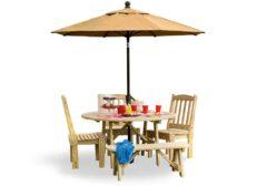 5' Round Table Set