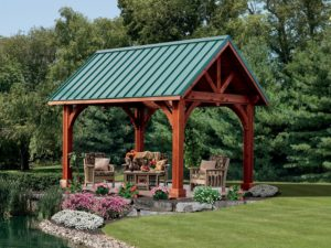 Alpine Cedar w/ metal roof