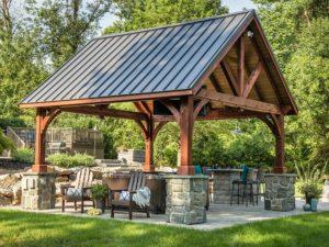 Alpine Wood w/ metal roof