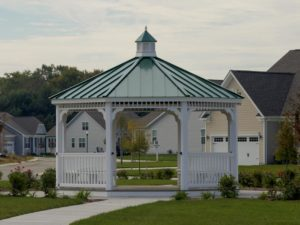 Vinyl Country Style w/ metal roof & cupola